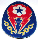 Patch ETO European Theatre of Operations-Advanced Base (imprimé, british made) US WW2