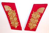 Paire de pattes de col de Général allemand WW2 REPRODUCTION
