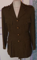 Vareuse officier SD Service Dress Royal Engineers GB WW2/Indian Army