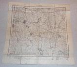 Carte de Appenweier/Gemar allemande WW1