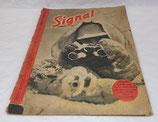 Magazine Signal INCOMPLET 2ème numéro janvier 1943 allemand WW2