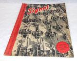 Magazine Signal 1er numéro janvier 1943 allemand WW2