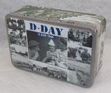 Boite en métal D-Day 6 juin 1944 Normandie
