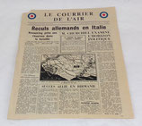 Tract/journal Le courrier de l'air (apporté par la RAF) 25 mai 1944 GB WW2