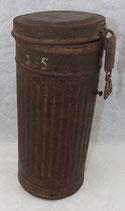 Boitier de masque à gaz allemand WW2