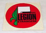 Autocollant LEGION ETRANGERE armée française (N°3)