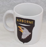 Mug 101ème Airborne Division US D-Day Normandie 1944
