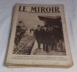 Journal LE MIROIR (Année 1918) français WW1