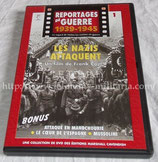 DVD Reportages de guerre 1939-1945 N°1