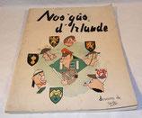 Livre Nos gâs d'Irlande, dessins de Robert Slagmeulder, instruction des soldats belges en Irlande 1945/1946