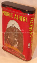 Boite de tabac Prince Albert US après-guerre