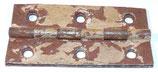 Pièce détachée charnière pour caisse allemande WW2 (N°3)
