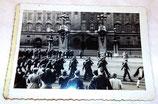 Photo originale changement de la garde à Buckingham Palace, octobre 1945 GB WW2