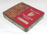 Boite en métal de 20 cigarettes Marcovitch Red & Gold GB WW2
