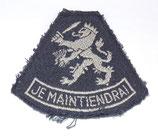 Insigne JE MAINTIENDRAI modèle RAF armée hollandaise