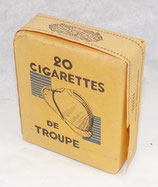 Paquet de 20 cigarettes de troupe plein français WW2