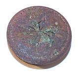 Pièce détachée bouton pression partie femelle allemand WW1/WW2