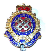 Cap badge Logistics Branch armée Canada