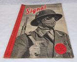Magazine Signal 2ème numéro juin 1941 allemand WW2