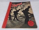 Magazine Signal INCOMPLET 1er numéro août 1941 allemand WW2