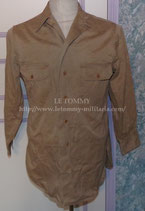 Chemise Chino US WW2 avec Laundry Numbers (3)