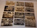 Lot de 13 cartes postales photos soldats du 51ème RI Régiment d'Infanterie années 30