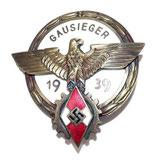 Insigne Gausieger im Reichsberufswettkampf 1939 allemand WW2 REPRODUCTION