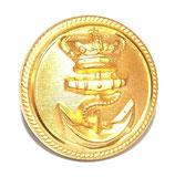 Bouton moyen module 21mm officier de Marine 1830-1848 Louis-Philippe/1852-1870 Second Empire français