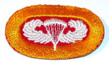 Oval 88th AAA Anti-Aircraft Artillery Battalion/464th PFAB Airborne parachutiste US