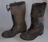 Paire de bottes de motocycliste Dispatch Rider terrain GB WW2
