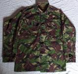 Veste treillis combat DPM avec patch drapeau Union Jack armée GB