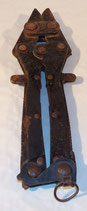 Pince coupante/cisaille fil de fer barbelé GB WW2