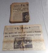Journal Le Matin français WW2