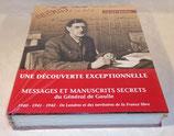 Livre Messages et manuscrits secrets du Général de Gaulle, Gérard Lhéritier
