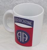 Mug 82ème Airborne Division US D-Day Normandie 1944