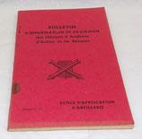 Bulletin d'information et de liaison des officiers d'artillerie d'active et de réserve, Ecole d'application d'artillerie, numéro 11 armée française