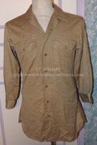 Chemise Chino US WW2 avec Laundry Number (2)