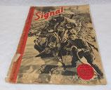 Magazine Signal INCOMPLET 2ème numéro septembre 1941 allemand WW2