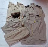 Grouping d'uniformes d'été d'un officier Marine Nationale armée française Indochine/Algérie