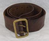 Ceinturon en cuir officier français WW1/WW2