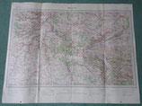 Carte MELUN français WW1/WW2