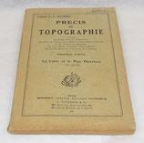Manuel Précis de topographie, Première partie, La carte et le plan directeur 1945 français WW2