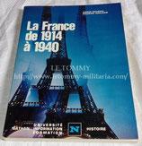 La France de 1914 à 1940