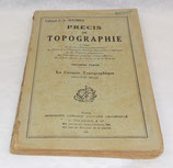 Manuel Précis de topographie, Deuxième partie, Le croquis topographique 1945 français WW2