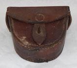 Etui en cuir pour niveau de rechange du mortier 60mm Brandt modèle 1935 ou 81mm modèle 1927-31 français WW2