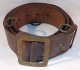 Ceinturon en cuir officier français WW1/WW2 (N°3)