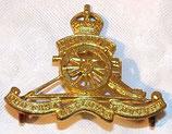 Cap badge RCA Royal Canadian Artillery Canada WW2
