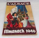 L'Alsace Almanach 1946 français