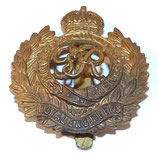Cap badge RE Royal Engineers GB WW1/WW2