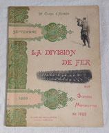 Livre La division de fer aux grandes manœuvres de 1899 (11ème Division d'Infanterie), 20ème corps d'armée septembre 1899 français WW1